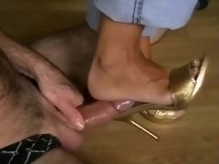 Crazy homemade Foot Fetish, MILF xxx video