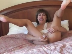 Why is Cindy crying? Incredible orgasm in the hotel.