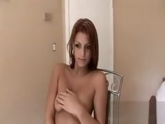Busty Amateur Brunette Teen Kira Queen Railed In Public