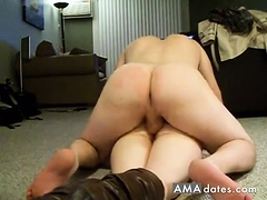 Aurel Pounce on Geny Sister Ass