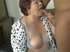 Amazing amateur Stockings, BBW porn video