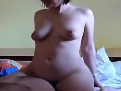 Crazy Amateur clip with POV, Webcam scenes