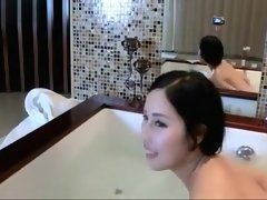 Sexy asian teen taking a bath (HOT) - THEWILDCAM. COM