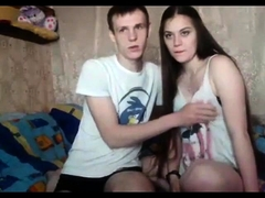 Super cute skinny teen brunette fucked doggystyle