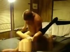 Horny amateur blonde fucked in hotel