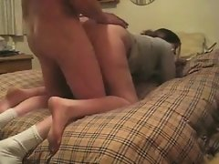 Married Couple Having Sex On The Bed