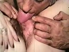 Horny Amateur record with Threesome, Vintage scenes