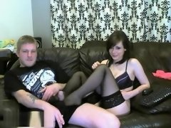A Well Endowed And And His Hot Lover Recorded On Cam