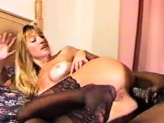 Blonde milf mariana kriguer interracial anal