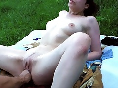 slut Karina fisted outdoor