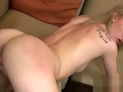 Teen sucks and rides without knowing about a hidden webcam