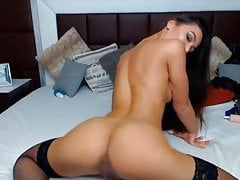European Babe Pounds Creamy Pussy