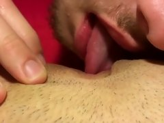 Homemade HD 21 y/o Amateur POV Eating Juicy Pussy in Dorm to Moaning Orgasm
