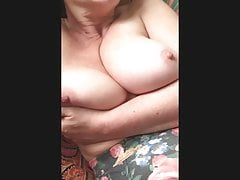 Saggy mature italian boobs