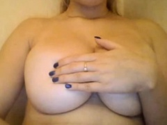 Webcam Girl Showing Off her Big Tits