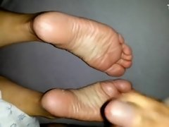 Crazy homemade Solo, Foot Fetish adult clip