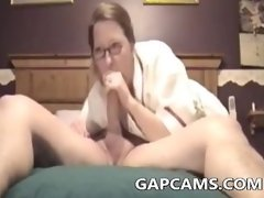 Amateur wife deep throat